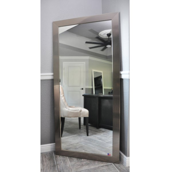 American Made Rayne Full-length Silver Mirror