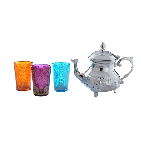 Moroccan Tea Set (India)