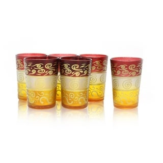 Moroccan Tea Glass Set (India)