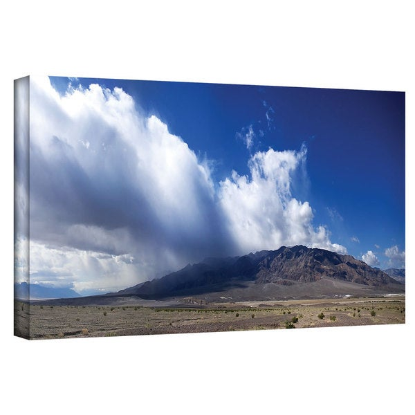 Art Wall Dan Wilson 'Storm in Death Valley' Gallery-Wrapped Canvas