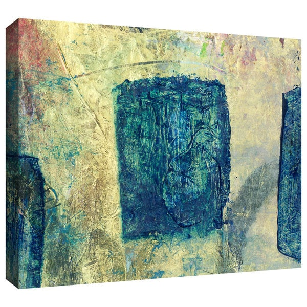 Art Wall Elena Ray 'Blue Golds' Gallery-Wrapped Canvas 12662177