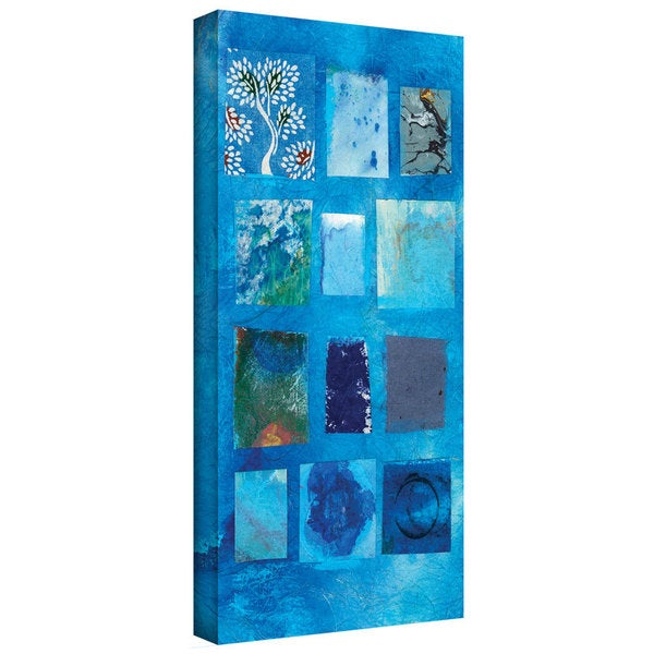 Art Wall Elena Ray 'Blue Tree Collage' Gallery-Wrapped Canvas 12662181