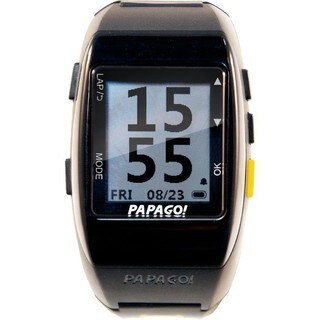 PAPAGO! GoWatch 770 GPS Multi-Sports Watch - Yellow Belt