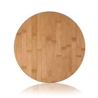 Adeco 100-percent Natural Bamboo .5-inch Thick Chopping Board