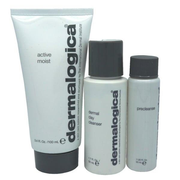Dermalogica Active Moist 3-piece Skincare Kit