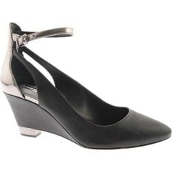 Women's BCBGeneration Bleeker Black/Pewter Leather