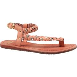 Women's Bronx Yen Zen Blush/Platinum Vitello/Metallic Crack