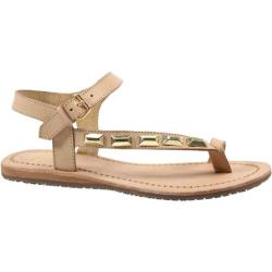 Women's Bronx Yo Gin Natural/Gold Stoned Vachetta Leather