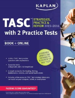 Kaplan New Tasc 2015: Book + Online + Videos + Mobile (Paperback)