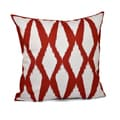 20 x 20-inch Large Diamond Print Decorative Throw Pillow