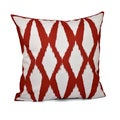 16 x 16-inch Diamond Print Decorative Throw Pillow