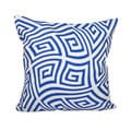 16 x 16-inch Geometric Decorative Throw Pillow