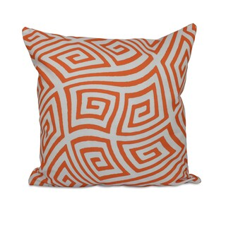 18 x 18-inch Geometric Decorative Throw Pillow