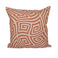 20 x 20-inch Twisted Geometric Decorative Throw Pillow