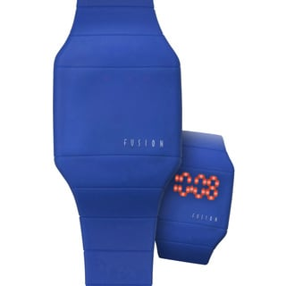 Dakota Fusion 'Blue Hidden Touch' Digital LED Watch