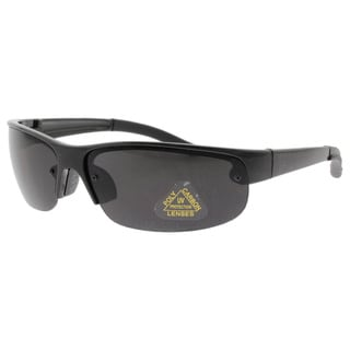 Echelon Men's Black Sport Sunglasses