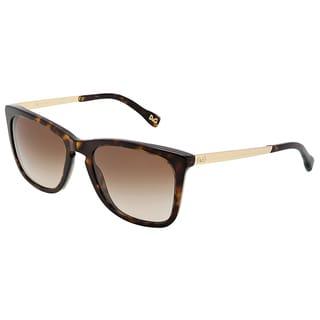 Dolce & Gabbana Unisex 'DD 3081 502/13' Havana Sunglasses