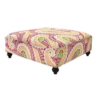 Orange Ottomans Overstock Shopping The Best Prices Online