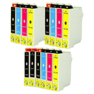 Replacement Epson 60 T060 T060120 T060220 T060320 T060420 Compatible Ink Cartridge (Pack Of 14 :5K/3C/3M/3Y)