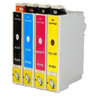 Epson 124 T124120 T124220 T124320 T124420 Stylus NX125 NX127 NX130 NX230 NX330 NX420 NX430 (Pack of 4)