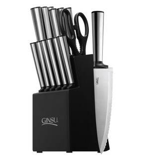 Ginsu Koden Series Stainless Steel 14-piece Cutlery Set