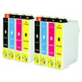 Replacement Epson 60 T060 T060120 T060220 T060320 T060420 Compatible Ink Cartridge (Pack Of 8 :2K/2C/2M/2Y)