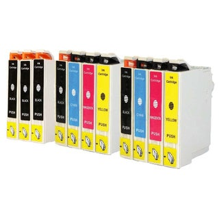 Replacement Epson 60 T060 T060120 T060220 T060320 T060420 Compatible Ink Cartridge (Pack Of 11 :5K/2C/2M/2Y)