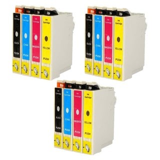 Replacement Epson 60 T060 T060120 T060220 T060320 T060420 Compatible Ink Cartridge (Pack Of 12 :3K/3C/3M/3Y)