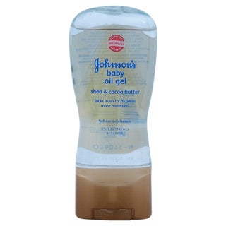 Johnson & Johnson Shea and Cocoa Butter 6.5-ounce Baby Oil Gel