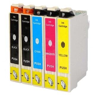 5PK Compatible Epson 126 T126120 T126220 T126320 T126420 Epson WorkForce 435 520 545 630 633 635 645 840 845 60 7010 7510