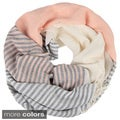 Women's Cotton Candy Stripe Scarf