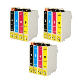 12PK Compatible Epson 126 T126120 T126220 T126320 T126420 Epson Stylus NX330 NX430 WorkForce 435 520 545 630 633 635 645 840 845