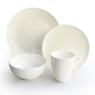 Classique Bone China Coupe 16-piece Dinnerware Set