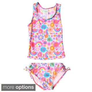 InGear Girls Printed Tankini Swim Set