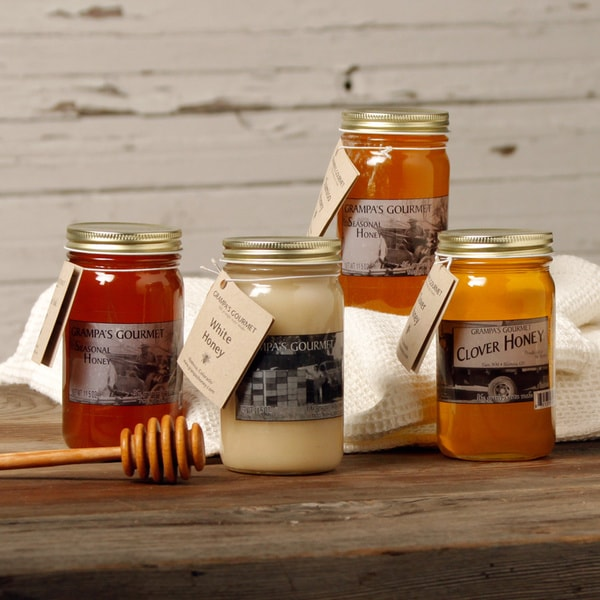 Grampas Honey Sampler (Set of 4)