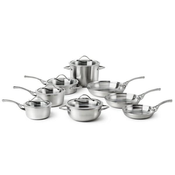 Calphalon Contemporary 13-piece Stainless Steel Cookware Set