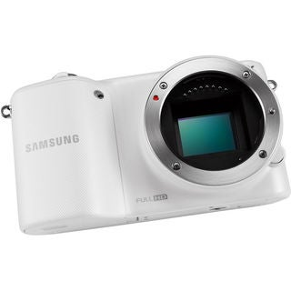 Samsung NX2000 Mirrorless Smart Wi-Fi Digital Camera Body White