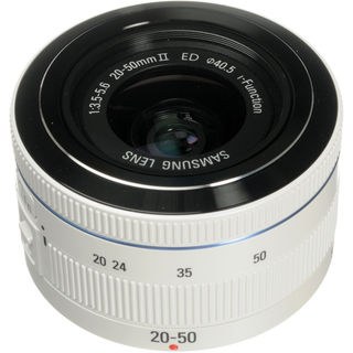 Samsung 20-50mm f/3.5-5.6 ED II White Lens (New Non Retail Packaging)