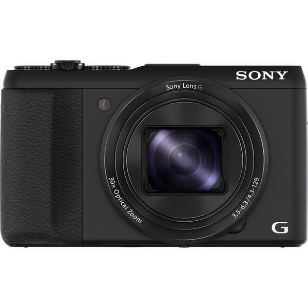 Sony Cyber Shot HX50V 20.4MP Black Digital Camera (New Non Retail Packaging)
