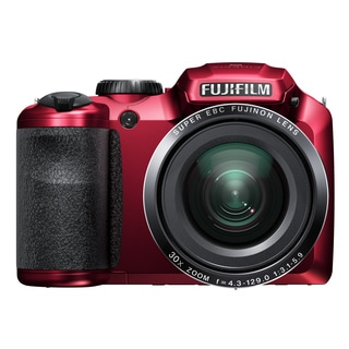 Fujifilm FinePix S4800 16MP Red Digital Camera