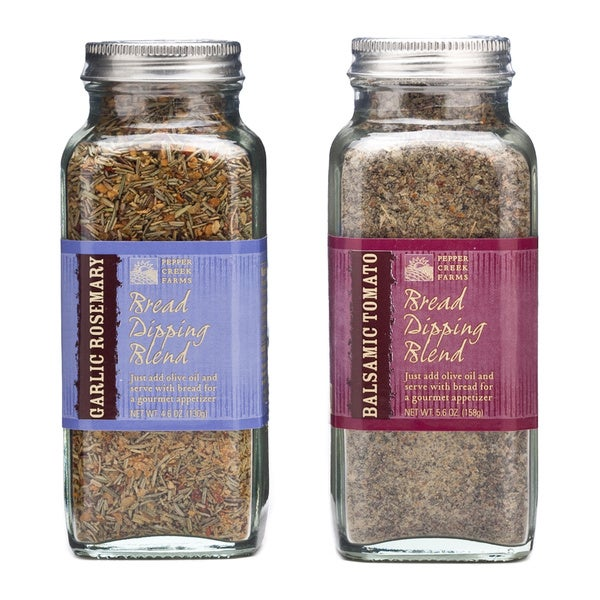 Pepper Creek Farms Bread Dipping Spice Blend Duo (Set of 2)