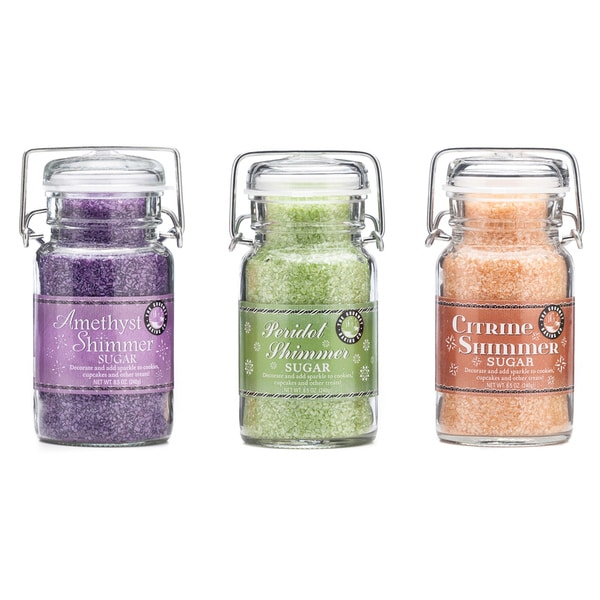 Pepper Creek Farms Classic Shimmer Sugar Trio (Set of 3)