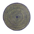 Set of 2 Blue Sweetgrass Trivet/ Placemats (Rwanda)