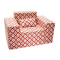 Morroccan Berry Memory Foam Chair and Pillow