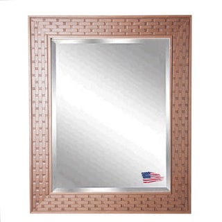 American Made Rayne Brown Bricks Wall Mirror