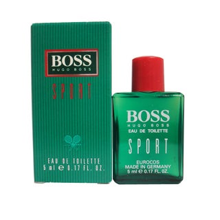 Hugo Boss Sport Men's 0.17-ounce Eau de Toilette Miniature Splash