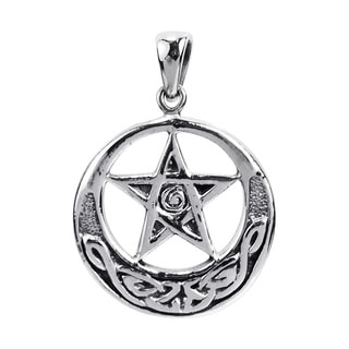 Celtic Pentacle Star .925 Sterling Silver Pendant (Thailand)