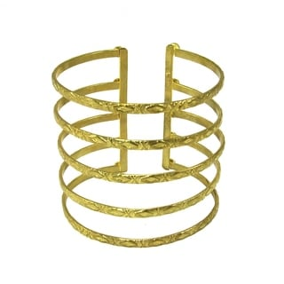 Handmade Baroque Cuff - Gold (India)