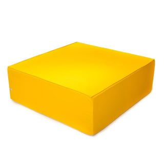 Softblock 44-inch Sunshine Yellow Indoor/ Outdoor Ottoman