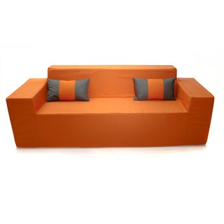 Tuscan Orange Indoor/ Outdoor Sofa